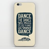 platypus iPhone & iPod Skins featuring Platypus The Wise by Victor Vercesi