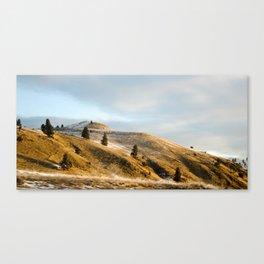 Winter in Montana Canvas Print