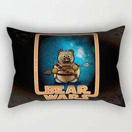 Bear Wars - Raider Rectangular Pillow