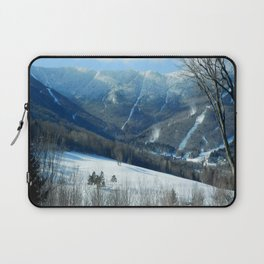 Ski Trails at Sugarbush Resort, Vermont Laptop Sleeve