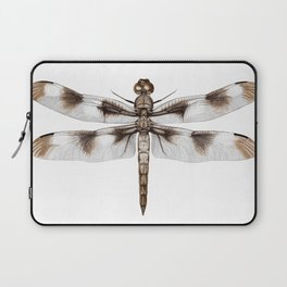 Twelve-Spotted Skimmer Dragonfly Laptop Sleeve