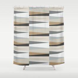 Scandinavian Geometry Pattern grey #Homedecor Shower Curtain