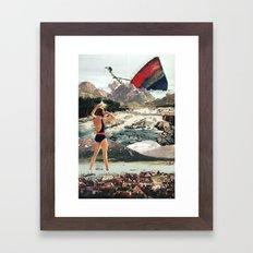 The Wreck Framed Art Print