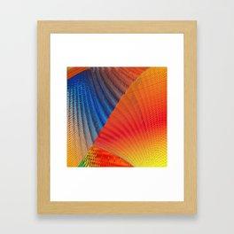Hexa Twirl Framed Art Print