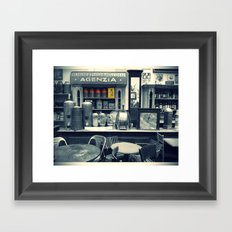 Il BAR BLU Framed Art Print
