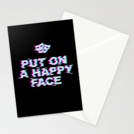 Put On a Happy Face Stationery Cards