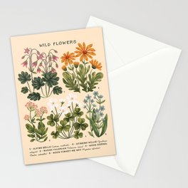 Wild Flowers ~ vol3. ~ light Stationery Cards