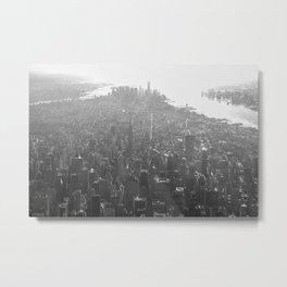 NY sunny winter morn Metal Print