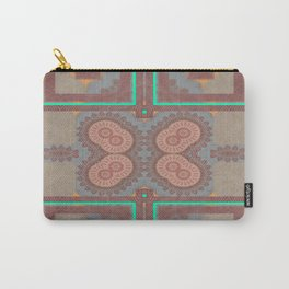 Pallid Minty Pattern 2 Carry-All Pouch