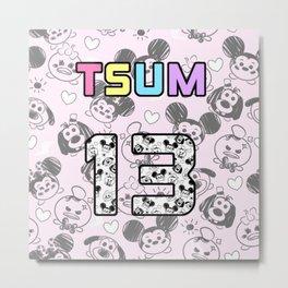 Tsum  jersey Metal Print