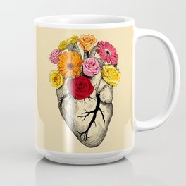 Flower Heart Coffee Mug