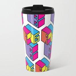 RGB (Convert to CMYK) Repeat Pattern Travel Mug