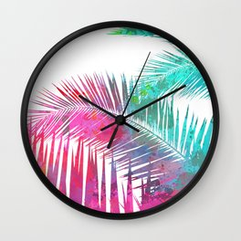 Palms Explosion Wall Clock
