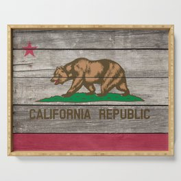 California Republic Serving Tray