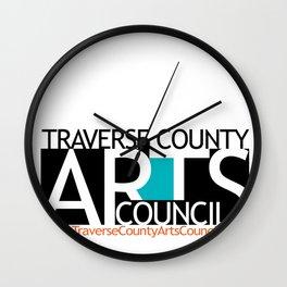 Fundraiser:  Traverse County Arts Council Wall Clock