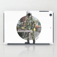 pilot iPad Cases featuring Pilot by Kalegiro
