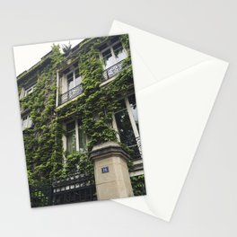 Montmartre Ivy, Paris Stationery Cards