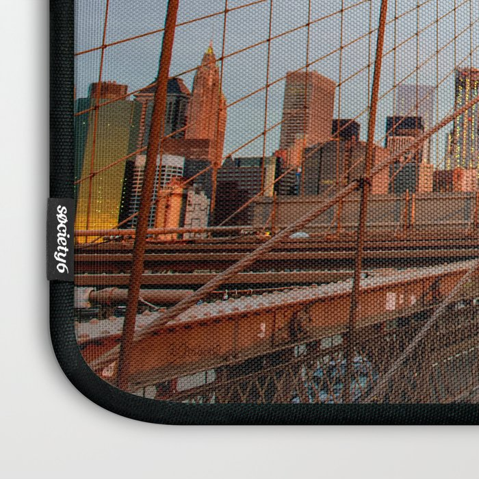 Brooklyn Bridge Sunrise Laptop Sleeve