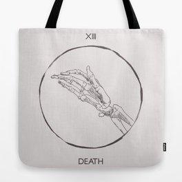 13 - The Death Tarot Card Tote Bag
