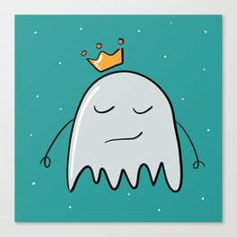 Ghost in the crown Canvas Print