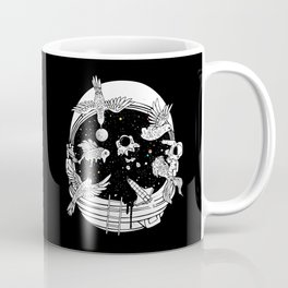 Depth of Discovery (A Case of Constant Curiosity-B/W) Coffee Mug