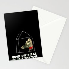 The seven little goats Stationery Cards