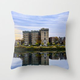 Reflective Moment Throw Pillow