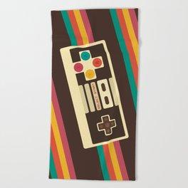 Retro Video Game 2 Beach Towel
