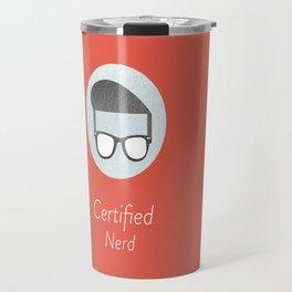 Certified Nerd Travel Mug