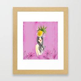 Tropical Girls - Lani Framed Art Print
