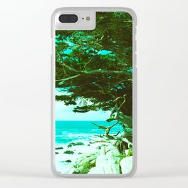 Coastal Cypress Tree // California Clear iPhone Case
