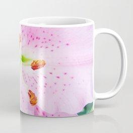 Pink Oriental Lily Coffee Mug