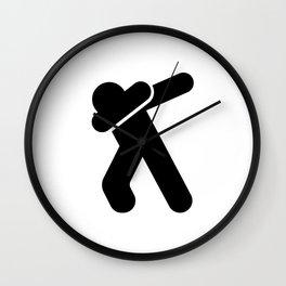 Dab! Wall Clock