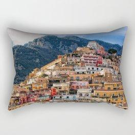 Positano, ITALY #SOCIETY6 #DECOR #BUYART Rectangular Pillow