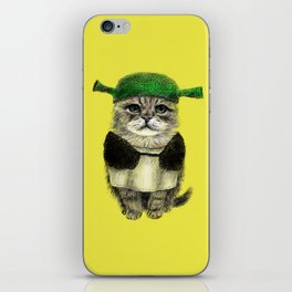 Shreky Cat iPhone Skin