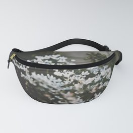 Lil white flower Fanny Pack