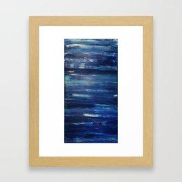 Baby Blue Framed Art Print