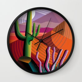 Black Canyon Desert Wall Clock