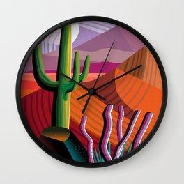 Black Canyon Desert Wall Clock