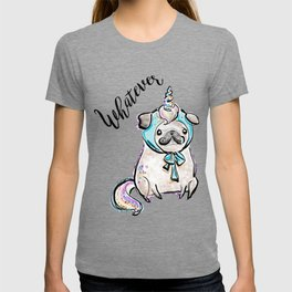 Funny Pug, Unicorn Pug, Funny Dog, Cute Pug, Cute Dog, Puppy dog, Unicorn dog T-shirt