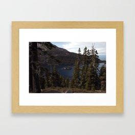 Emerald Bay   Lake Tahoe, CA Framed Art Print