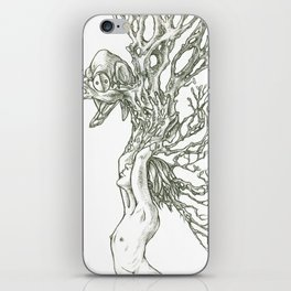 I grew this so you would visit. iPhone Skin