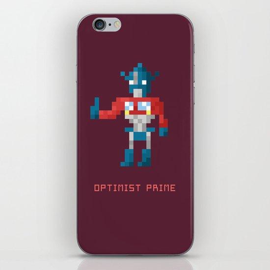 Optimist Prime iPhone & iPod Skin