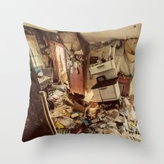 Chaotic Kitchen Throw Pillow