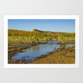 Pentecost River Crossing Art Print