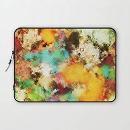A distorted impact Laptop Sleeve