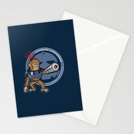 Automated Laser Monkey Stationery Cards