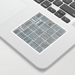 The Bookish Checkerboard Sticker