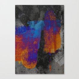 Neon Grunge 3 Canvas Print
