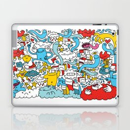 ON THE CLOUDS Laptop & iPad Skin